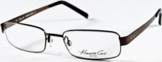 Kenneth Cole New York KC0141 Eyeglasses Eyeglasses - 048 Shiny Brown/Demo Lens