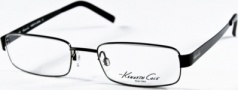 Kenneth Cole New York KC0141 Eyeglasses Eyeglasses - 008 Shiny Gunmetal/Demo Lens