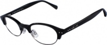 Kenneth Cole New York KC0152 Eyeglasses Eyeglasses - 001 Black Gunmetal/Demo Lens