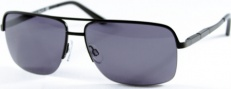 Kenneth Cole New York KC6068 Sunglasses Sunglasses - 02A Black/Smoke Lens
