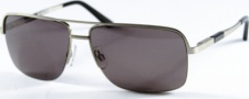 Kenneth Cole New York KC6068 Sunglasses Sunglasses - 07N Brushed Shiny Silver/Smoke Lens