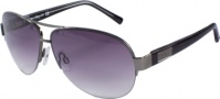 Kenneth Cole New York KC6083 Sunglasses Sunglasses - 08Z Satin Black/Smoke Lens