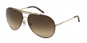Dolce & Gabbana DG2075 Sunglasses Sunglasses - 034/13 Gold / Brown Gradient