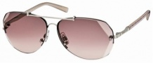 Swarovski SK0006 Sunglasses Sunglasses - 16Z Rose Gold/Mauve Lens