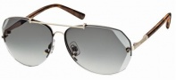 Swarovski SK0006 Sunglasses Sunglasses - 28P Gold/Smoke Lens