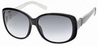 Swarovski SK0012 Sunglasses Sunglasses - 05B Black/Smoke Lens