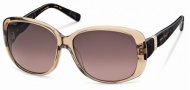 Swarovski SK0012 Sunglasses Sunglasses - 45Z Honey/Mauve Lens