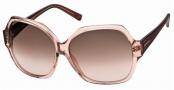 Swarovski SK0015 Sunglasses Sunglasses - 72F Transparent Pink/Pink Lens