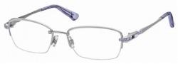 Swarovski SK5001 Eyeglasses Eyeglasses - 001 Silver-Violet/Demo Lens