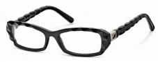 Swarovski SK5007 Eyeglasses Eyeglasses - 001 Black/Demo Lens
