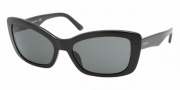 Prada PR 03NS Sunglasses Sunglasses - 1AB1A1 Gloss / Black Gray