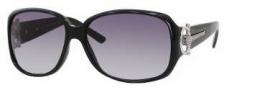 Gucci 3168 Sunglasses Sunglasses - OD28 Shiny Black (JJ Gray Shaded Lens
