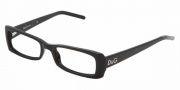 D&G DD 1158 Eyeglasses Eyeglasses - 501 Black / Demo Lens (only in 50-17)