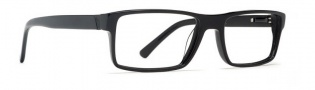 Von Zipper Fluent in Sarcasm Eyeglasses Eyeglasses - Black Gloss