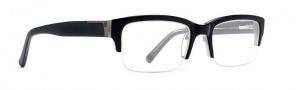 Von Zippper Elks Lodge Eyeglasses Eyeglasses - Black Smoke