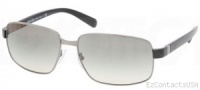 Prada PR 52NS Sunglasses Sunglasses - 5AV3M1 Gunmetal / Crystal Gray Gradient