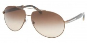 Prada PR 50NS Sunglasses Sunglasses - 8AE6S1 Tobacco / Brown Gradient