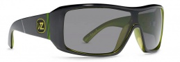 Von Zipper Smokeout Sunglasses- Limited Edition Sunglasses - Comsat's Lightsout Lime