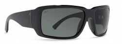 Von Zipper Drydock Polarized Sunglasses Sunglasses - BML-Black Gloss / Grey Meloptics Polarized