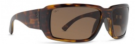 Von Zipper Drydock Polarized Sunglasses Sunglasses - TML-Tortoise / Bronze Meloptics Polarized