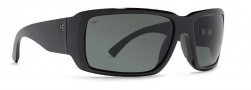 Von Zipper Drydock Polarized Sunglasses Sunglasses - BGX-Black Gloss / Grey Glass Polarized
