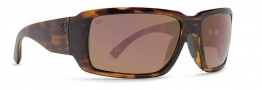 Von Zipper Drydock Polarized Sunglasses Sunglasses - TVP-Tortoise / Vermilion Chrome Glass Polarized