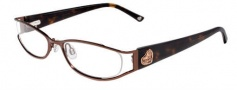 Bebe BB 5016 Eyeglasses Eyeglasses - Topaz Brown