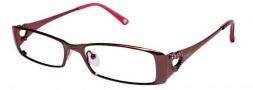 Bebe BB 5014 Eyeglasses Eyeglasses - Smoked Topaz