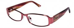 Bebe BB 5013 Eyeglasses Eyeglasses - Ruby