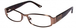 Bebe BB 5013 Eyeglasses Eyeglasses - Smoked Topaz