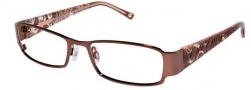 Bebe BB 5012 Eyeglasses Eyeglasses - Smoked Topaz