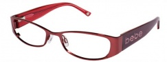 Bebe BB 5011 Eyeglasses Eyeglasses - Ruby Red