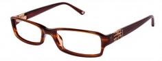 Bebe BB 5008 Eyeglasses Eyeglasses - Smoked Topaz
