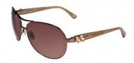 Bebe BB 7018 Sunglasses Sunglasses - Brown Lace / Brown Gradient