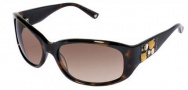 Bebe BB 7007 Sunglasses Sunglasses - Tortoise / Brown Gradient