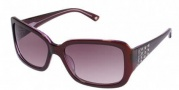 Bebe BB 7006 Sunglasses Sunglasses - Ruby / Burgundy Gradient