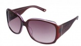 Bebe BB 7003 Sunglasses Sunglasses - Ruby / Burgundy Gradient