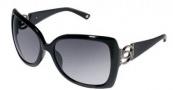 Bebe BB 7001 Sunglasses Sunglasses - Jet / Grey Gradient