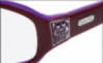 Coach Jill 2015 Eyeglasses Eyeglasses - Plum 524