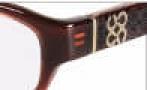 Coach Gwendolyn 2012 Eyeglasses Eyeglasses - Plum 506