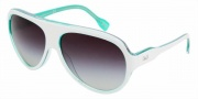 D&G DD 3059 Sunglasses Sunglasses - 17708G White on Green