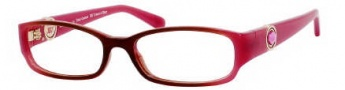 Juicy Couture Prestige Eyeglasses Eyeglasses - OESM Brown / Pink