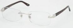 Ralph Lauren RL5044B Eyeglasses Eyeglasses - 9104 Shiny Silver / Demo Lens