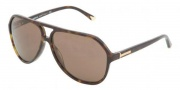 Dolce & Gabbana DG4102 Sunglasses Sunglasses - 502 / 73 Havana Brown