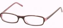 Ralph Lauren RL6017 Eyeglasses Eyeglasses - 5014 Top Brown / White / Liliac Demo Lens