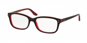 Ralph Lauren RL6062 Eyeglasses Eyeglasses - 5255 Top Havana / Red