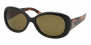 Ralph Lauren RL8056 Sunglasses Sunglasses - 525873 Black / Brown