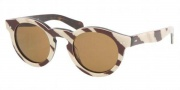 Ralph Lauren RL8071W Sunglasses Sunglasses - 529853 Zebra / Crystal Brown