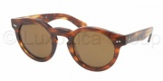 Ralph Lauren RL8071W Sunglasses Sunglasses - 500753 Striped Havana / Crystal Brown