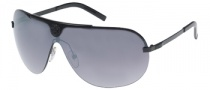 Guess GU 6425 Sunglasses Sunglasses - BLK-35F: BLK / GRY FLASH